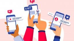 social media mobile phones