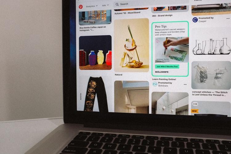 Pinterest social media updates March 2021