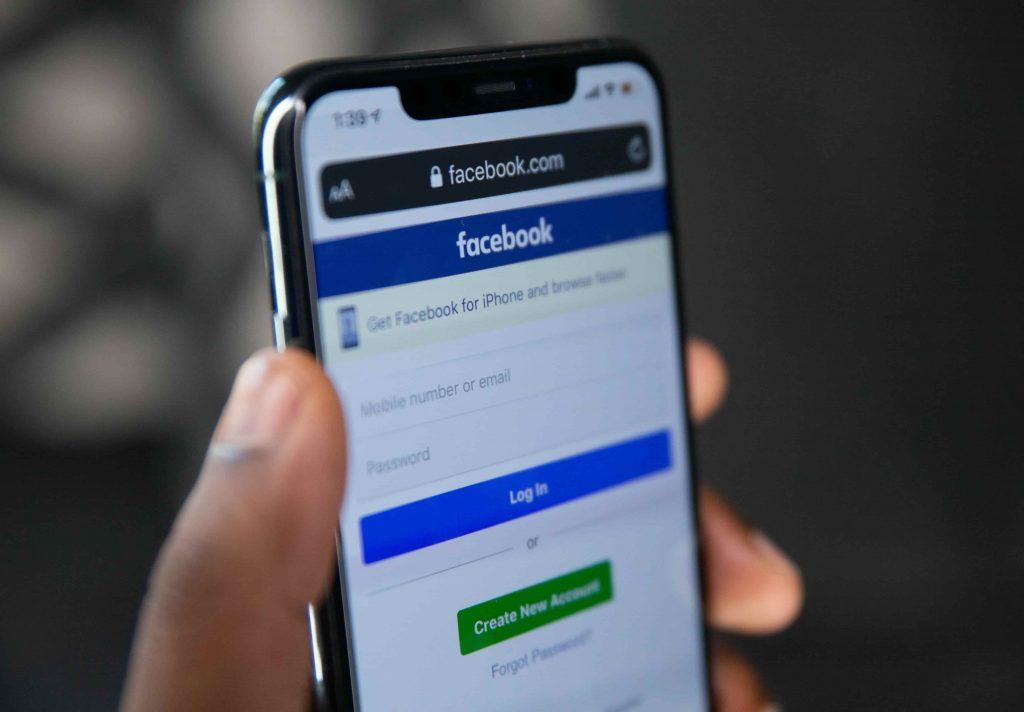 Facebook social media updates