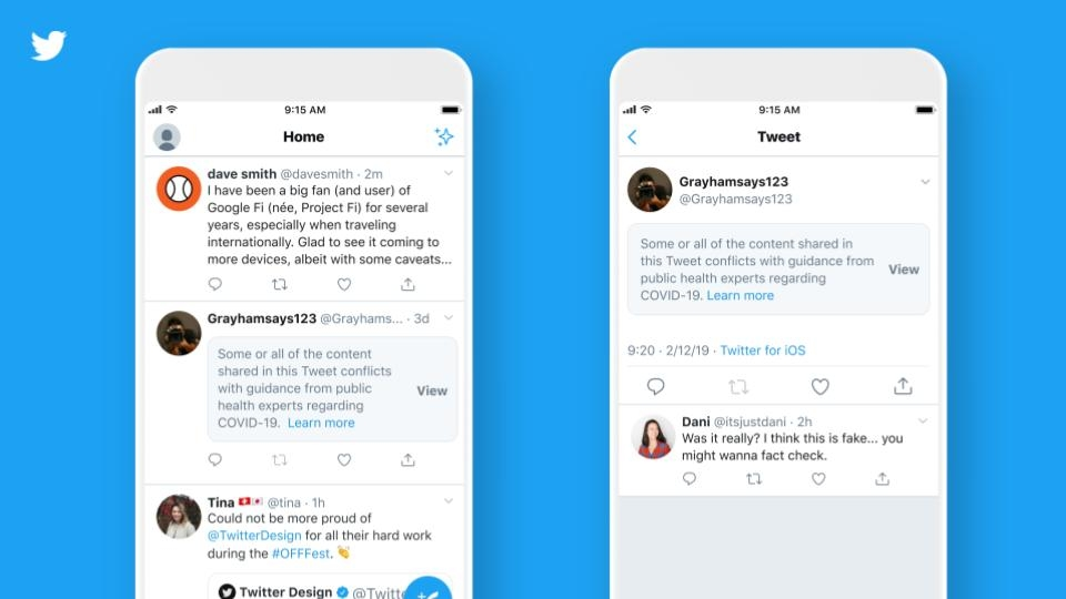 Twitter social media updates and news