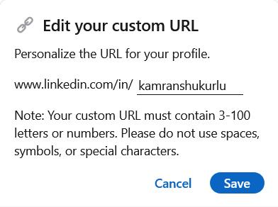 LinkedIn Management 101 url