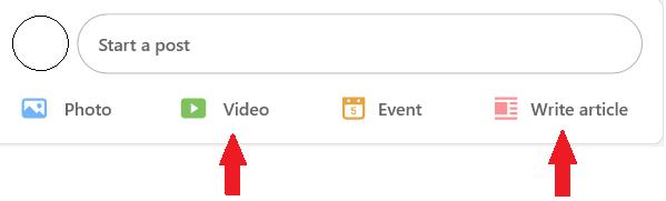 Linkedin videos